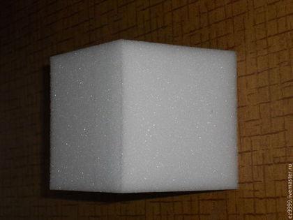 """Другие виды рукоделия ручной работы. Ярмарка Мастеров - ручная работа Заготовка """"Кубик""""  10 см. Handmade."""