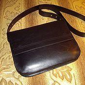 Classic Bag handmade. Livemaster - original item Women`s leather bag. Black. to buy a bag .genuine leather. Handmade.