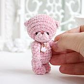 Куклы и игрушки handmade. Livemaster - original item Pink Teddy bear marshmallow baby. Handmade.