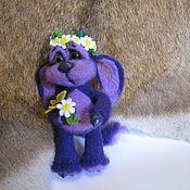 Куклы и игрушки ручной работы. Ярмарка Мастеров - ручная работа Бесёнок в ромашках. Handmade.