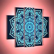 Картины и панно handmade. Livemaster - original item polyptych-pattern. Handmade.