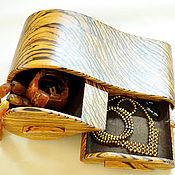 Для дома и интерьера ручной работы. Ярмарка Мастеров - ручная работа Комодик из зебрано. Handmade.