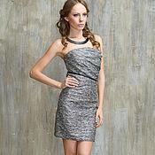 Одежда handmade. Livemaster - original item Evening dress strapless silver.. Handmade.