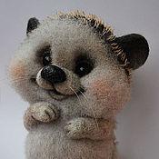 Куклы и игрушки ручной работы. Ярмарка Мастеров - ручная работа Ежик валяный Филипок. Handmade.