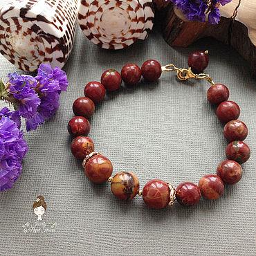 Decorations handmade. Livemaster - original item --30% Protection bracelet