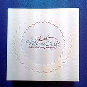 Материалы для творчества handmade. Livemaster - original item Design box with logo. Handmade.