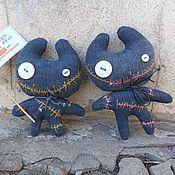 Куклы и игрушки ручной работы. Ярмарка Мастеров - ручная работа Коты-недоразумейки. CRAZY TOYS. Handmade.