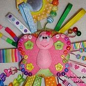 Куклы и игрушки ручной работы. Ярмарка Мастеров - ручная работа Погремушка для малышки (авторская). Handmade.