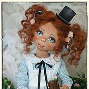 Куклы и игрушки ручной работы. Ярмарка Мастеров - ручная работа ALICE текстильная кукла. Handmade.