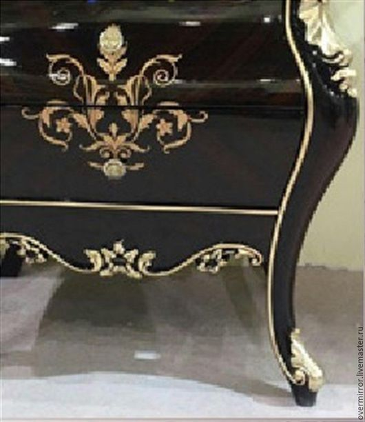 Мебель ручной работы. Ярмарка Мастеров - ручная работа. Купить Тумба. Handmade. Черный, тумба, мдф