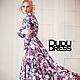 Платья ручной работы. Цветочное платье в пол. Dudu-dress. Ярмарка Мастеров. Платье в пол, цветочный принт, Плотный трикотаж