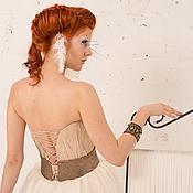 """Свадебный салон ручной работы. Ярмарка Мастеров - ручная работа Свадебное платье """"Орхидея на заказ"""". Handmade."""