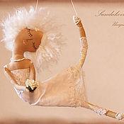 """Куклы и игрушки ручной работы. Ярмарка Мастеров - ручная работа """"Ангелица-розочка"""" - авторская кофейная куколка.. Handmade."""