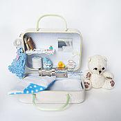 Куклы и игрушки ручной работы. Ярмарка Мастеров - ручная работа Чемоданчик-домик. Handmade.