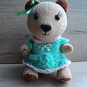 Куклы и игрушки ручной работы. Ярмарка Мастеров - ручная работа Медвежонок. Handmade.