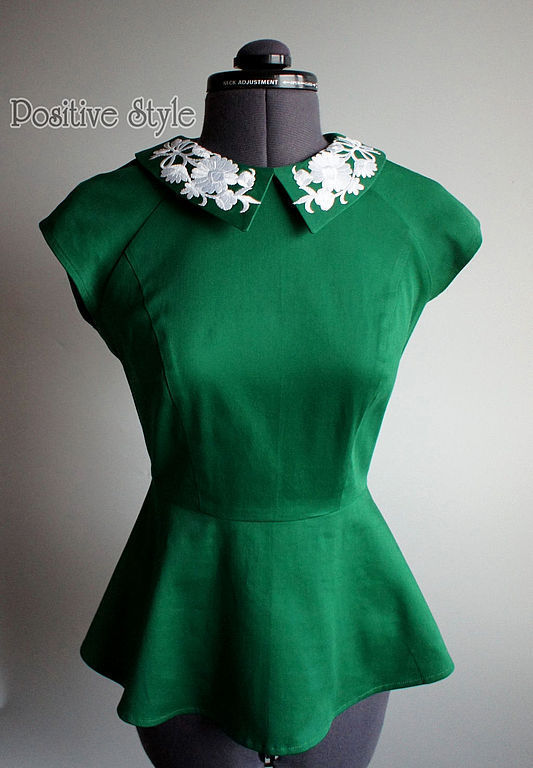 Блузка с баской купить доставка