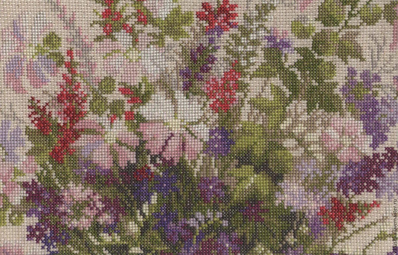 Вышивка картины весна