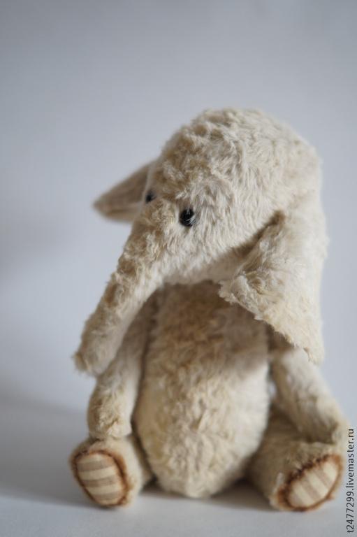 Мишки Тедди ручной работы. Ярмарка Мастеров - ручная работа. Купить Слоник тедди Боня. Handmade. Тедди, вискоза для тедди