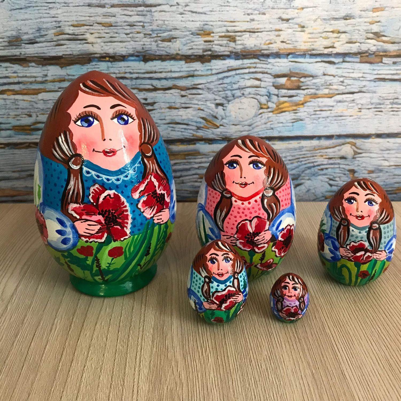 Матрешка « маки», Матрешки, Хабаровск,  Фото №1