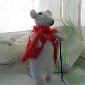 Куклы и игрушки ручной работы. Ярмарка Мастеров - ручная работа Крыс на прогулке. Handmade.