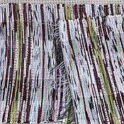 Для дома и интерьера ручной работы. Ярмарка Мастеров - ручная работа Половик ручного ткачества (№ 120). Handmade.