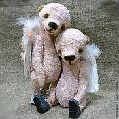 Куклы и игрушки ручной работы. Ярмарка Мастеров - ручная работа Мишки тедди ангелочки. Handmade.