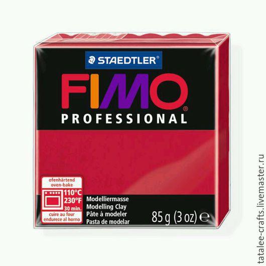 Для украшений ручной работы. Ярмарка Мастеров - ручная работа. Купить Пунцовый (29) - Fimo Professional. Handmade. Fimo, professional