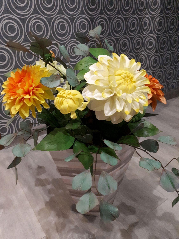 Георгины из фоамирана, Цветы, Ульяновск, Фото №1