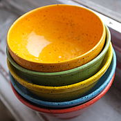 Посуда ручной работы. Ярмарка Мастеров - ручная работа Оранжевая пиала. Handmade.
