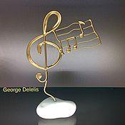 Для дома и интерьера handmade. Livemaster - original item Treble clef. Handmade.