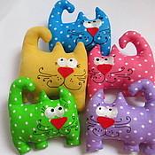 """Куклы и игрушки ручной работы. Ярмарка Мастеров - ручная работа Саше """"Кот с лавандой"""". Handmade."""