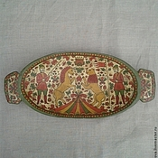 Русский стиль handmade. Livemaster - original item Dish ancient large