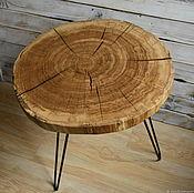 Столы ручной работы. Ярмарка Мастеров - ручная работа Столик в стиле лофт. Handmade.