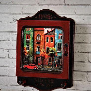 For home and interior handmade. Livemaster - original item Housekeeper wall