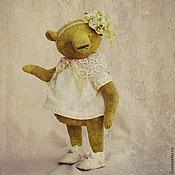 Куклы и игрушки ручной работы. Ярмарка Мастеров - ручная работа Мишка Тедди Оливия. Handmade.