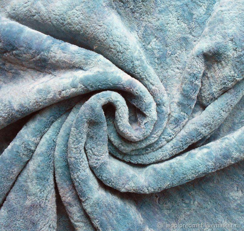 Материалы: Плюш Голубой рассвет матовый, Шитье, Красноярск, Фото №1