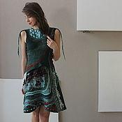 Одежда handmade. Livemaster - original item Felted dress. Handmade.