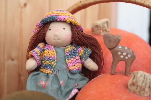 Милина 16 см. Вальдорфская кукла.Julia Solarrain (SolarDolls) Ярмарка Мастеров