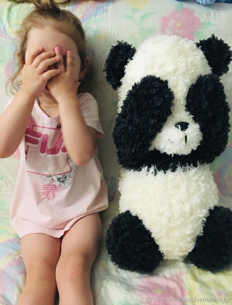 Мягкая игрушка Панда, Мягкие игрушки, Ногинск,  Фото №1
