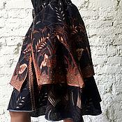 Одежда ручной работы. Ярмарка Мастеров - ручная работа Юбка бохо-шик Bali Shaman. Handmade.