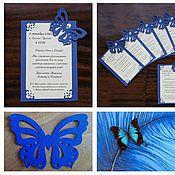 Свадебный салон ручной работы. Ярмарка Мастеров - ручная работа Свадебные мелочи в кремово-синей гамме. Handmade.