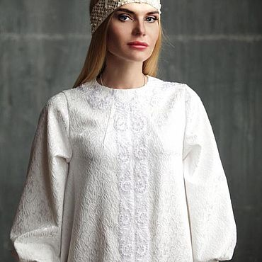 Свадебный салон ручной работы. Ярмарка Мастеров - ручная работа Свадебное платье в русском стиле. Handmade.