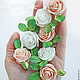 Свадебные украшения ручной работы. Ярмарка Мастеров - ручная работа. Купить Роза в прическу. Handmade. Роза, цветы в волосы