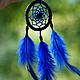 Ловцы снов ручной работы. Ярмарка Мастеров - ручная работа. Купить natura mini: голубика: ловец снов. Handmade.