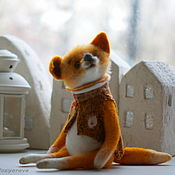Куклы и игрушки ручной работы. Ярмарка Мастеров - ручная работа Большой Лисьен. Handmade.