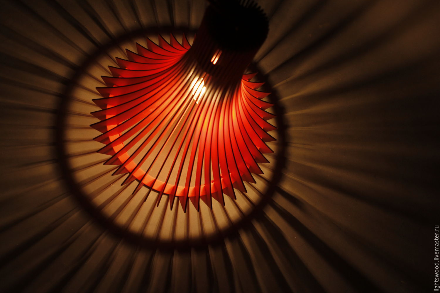 Lamp made of plywood DECANTER, Chandeliers, St. Petersburg,  Фото №1