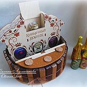 Подарки к праздникам ручной работы. Ярмарка Мастеров - ручная работа Барная стойка из конфет. Handmade.