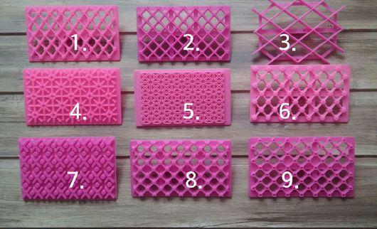 Другие виды рукоделия ручной работы. Ярмарка Мастеров - ручная работа. Купить Сетка для нанесения рисунка. Handmade. Розовый, пластик