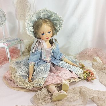 Dolls & toys. Livemaster - original item Anna, collectible doll. Handmade.