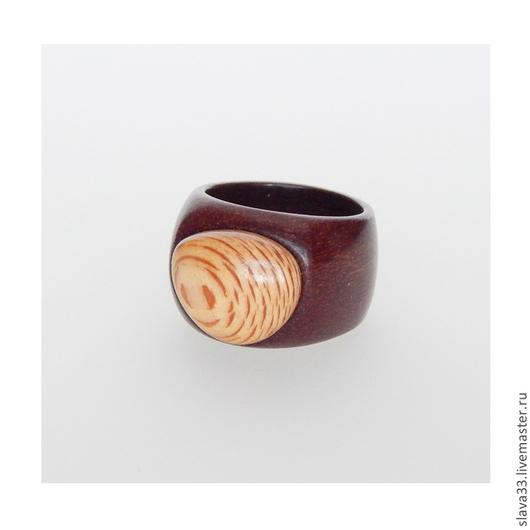 Кольца ручной работы. Ярмарка Мастеров - ручная работа. Купить Перстень из дерева.. Handmade. Wooden ring, украшения из дерева